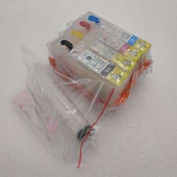 Dla hp 564 4 gniazdo do drukarek HP kartridż na tusz do ponownego napełniania Photosmart W części do drukarek ARC chip RIC tanie i dobre opinie CaoDuRen CN (pochodzenie)