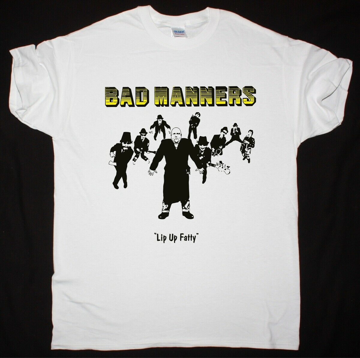 Bad Manners Lip Up Fatty Ska 2-Tone Madness The Specials New White T-Shirt