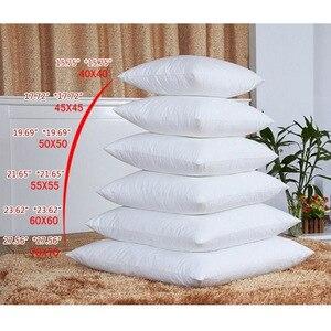 Image 5 - Cuscino bianco di Riempimento Piazza Collo Centro Del Cuscino per Dormire Bed Mal di Cotone Cuscino di Riempimento Non tessuto Cuscino Nucleo Interno complementi Arredo Casa