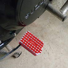Motorbike brake pedal increase VSTrom250 GW250 DL250 decoration accessories brake anti-skid plate wide foot pad gw250 usb t 1