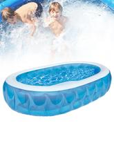 Newest Inflatable Swimming Pool Durable Portable Summer Pool Toy Built-in Drain Plugs for Kids #WW