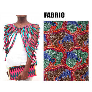 Image 5 - BRW 2020 African Ankara Handmade Strap Necklaces Fashion Accessories Jewelry Gift Afircan Fabric Print Necklace Shawl WYX15