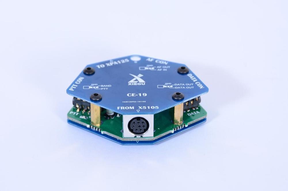 Original Xiegu CE-19 CE19 Data Interface Expansion Card For XIEGU X5105 G90 G90S ACC PTT XPA125