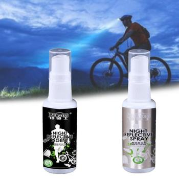 Night Reflective Spray Running Bike Fluorescence Paint Tools Safety Mark Outdoor & Anti Rental Dropship Accident image