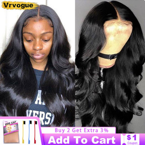 30 Inch Brazilian Body Wave 13x4 Lace Front Wig For Black Women 4x4 Lace Closure Wig Human Hair Wigs With Baby Hair Vrvogue