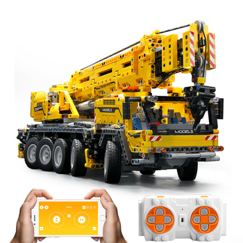 20004 Technic RC Mobile Crane MK II Motor Power Compatible With Ultimate 42009 Building Blocks Bricks Kid Toys Christmas Gifts image
