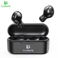 FLOVEME TWS 5,0 Wireless Headset Bluetooth Kopfhörer Kopfhörer Für Smart Telefon Kopfhörer Stereo-Sound Ohrhörer Dual Mikrofon
