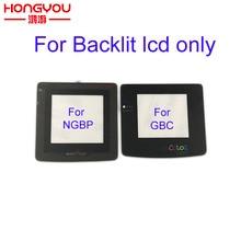 10pcs Glass For Nintendo Game Boy Color GBC Light Lens Protector Backlight Backlit LCD Screen Mod Lens Protector For NGP Color