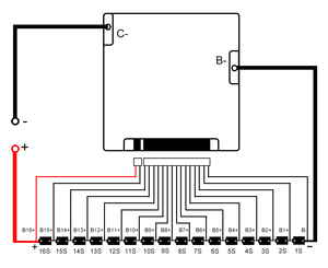 Image 5 - Qucc Lifepo4 48 فولت BMS 16S 200A 250A سيارة كهربائية موتور ليثيوم الحديد الفوسفات عالية الحالية الإفراط في الشحن لوح حماية التعادل