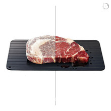Fast Plate Defrost Frozen Cuisine Tray Defrost Meat Magic Tray(China)