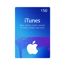 US Region $50 ITune Gift Card
