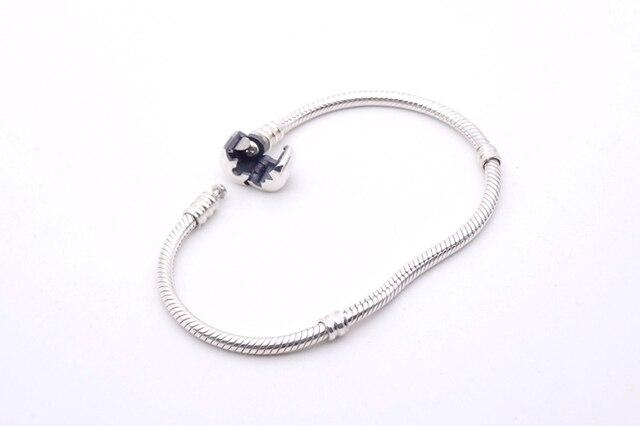 LMNZB 100% Original 925 Sterling Silver Snake Chain Bangle & Bracelet With Silver Certificate 16-23CM Bracelet for Women LFH005 4