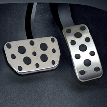 For  TOYOTA Highlander Camry lexus RX ES stainless steel foot rest non slipstyling gas pad