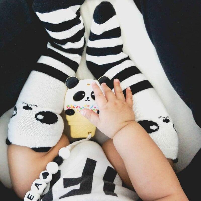 Lovely Cartoon Fox Panda Baby Socks Knee High Girls Boys Toddler Socks Long Tube Animal Infant Soft Cotton Socks Kids 0 To 3 Y