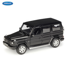 WELLY 1:24  Mercedes-Benz G-Class SUV sports car simulation alloy model crafts decoration collection toy tools gift
