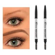 12pcs/lot it cosmetics it brow power universal brow pencil 0.16g Double-headed brown waterpoor eyebrow pencil Eyebrow brush