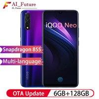 New VIVO iQOO Neo Smartphone 6GB 128GB Snapdragon 845 Support 22.5W Fast Charge 6.38FHD AMOLED 3 Cameras 4500mAh Smartphone