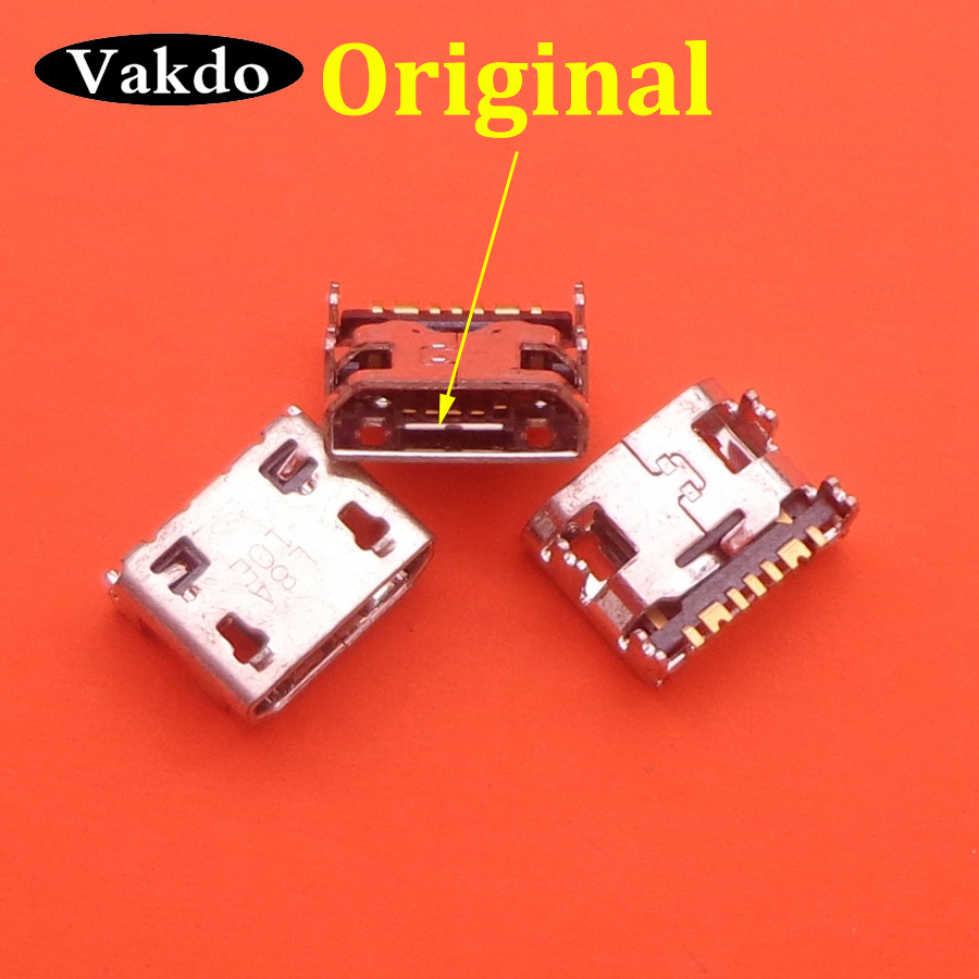 10pcs Micro Mini Usb Charge Jack Socket Connector For Samsung Galaxy Trend II,S5280,S5282 Fame,S7262,S7710 Cell Phones