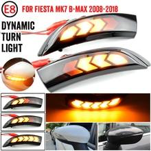 Per Ford Fiesta Mk7 2008 2017 per Ford b max 2012 2017 2 pezzi lampeggiatore dinamico LED indicatori di direzione indicatore specchio laterale