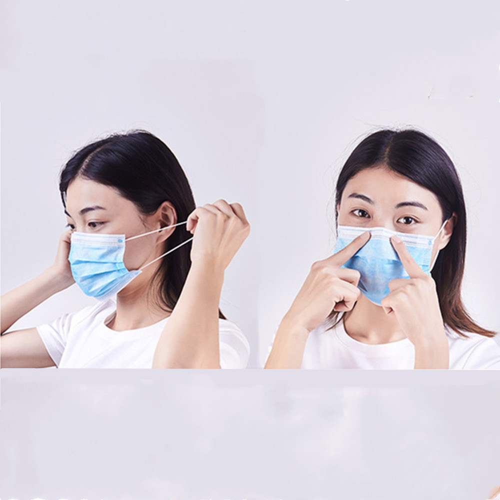 Image 4 - 40 Pcs Profession Medical Anti Virus Surgical Face Mask 3 Ply 
