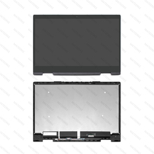 15.6 FHD LED LCD Touch Screen Assembly+Frame LP156WF9-SPL1 For HP Envy X360 15-bq series 15-bq102ng 15-bq075nr 15-bq100nl цена