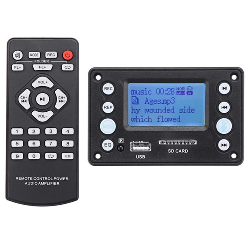 4 2Dc Bluetooth Mp3 Decoder Board Decoding Mp3 Player Audio Module Support Ape Flac Wma Wav