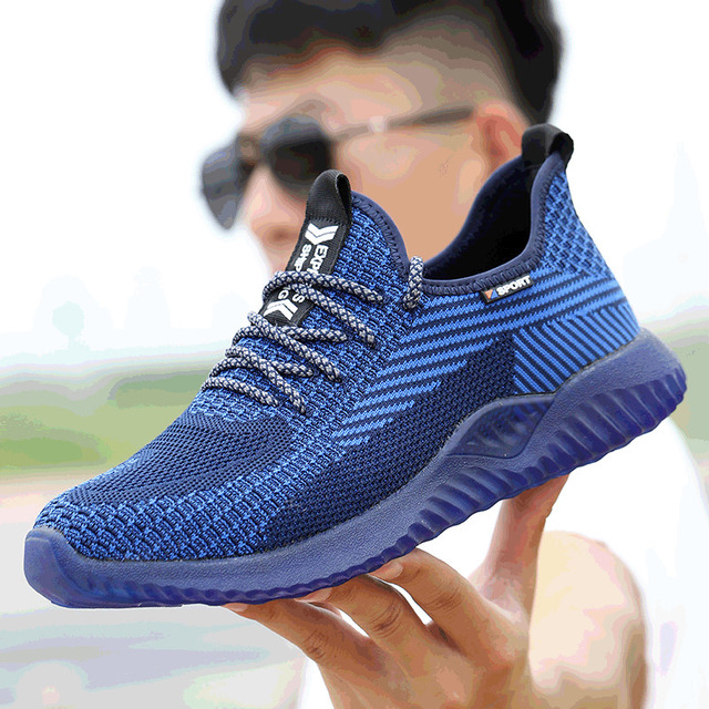 Immortal Indestructible Ryder Shoes Men And Women Steel Toe Air Safety Boots Puncture Proof Work Sneakers Breathable Shoes