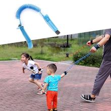 Anti Lost Wrist Link Toddler Leash Safety Harness For Baby Strap Rope Outdoor Hiking Hand Belt Band Anti-lost Wristband Kids children safety harness leash anti lost adjustable wrist link traction rope baby kids wristband belt