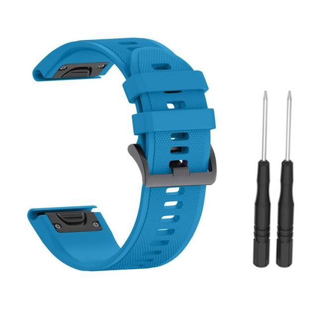 Bracelet de rechange en Silicone pour Garmin Fenix 3 3HR 5X 5X Plus, Bracelet de Sport, en caoutchouc, Fitness, 2020