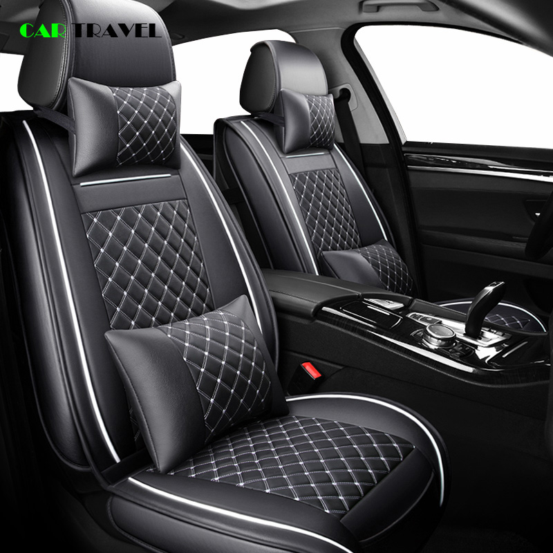 Car-Seat-Cover Polo Passat Jetta Tiguan Golf Front--Rear Volkswagen Luxury Touareg
