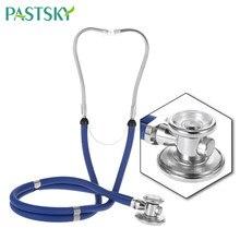 Estetoscopio médico de doble cabeza, estetoscopio profesional multifuncional, médico, enfermera, uso doméstico, cuidado de la salud
