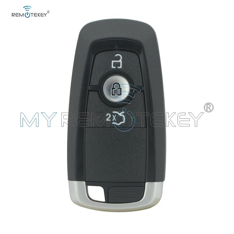 Remtekey HS7T-15K601-DC Smart key 3 button 433Mhz HITAG PRO ID49 chip for Ford Mondeo 2017 Edge Explorer 2018 A2C93142101