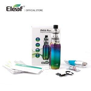 Image 2 - [FR] Original Eleaf iStick Rim C With 4ml MELO 5 Kit Output 80W Wattage EC M/EC S Coil By Type C Cable Electronic Cigarette