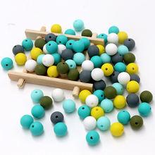 Bobobox оптовая продажа 300 шт 9 мм силиконовые шарики детские