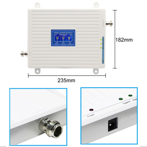 Image 3 - 2g 3g 4g repeater 900 1800 2100 Triple Band repeater gsm 900 dcs 1800 wcdma 2100 Cell Phone Signal Booster cellular amplifier