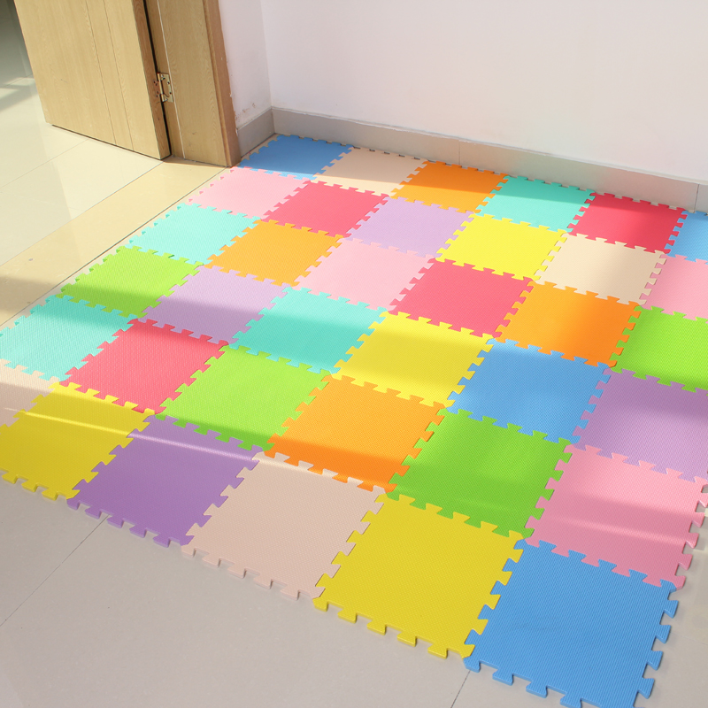 Baby EVA foam puzzle play floor mat interlocking tiles Shipping from Moscow RU 32cm and 62cm Innrech Market.com