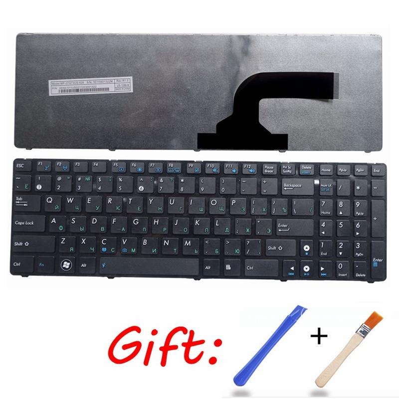RU Black New Russian Laptop Keyboard FOR ASUS G73Sw G73Jw K52D K52DR K52DY K52JK K52JR K52JT K52JU K52JV K53SV K53SC 04GN0K1KRU0