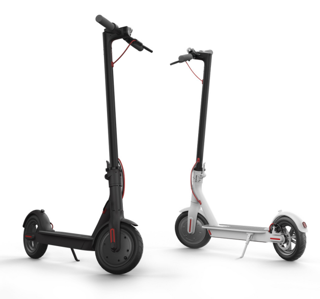 AOVO adults electric scooter with Bluetooth controll application  350w battery 20km mileage