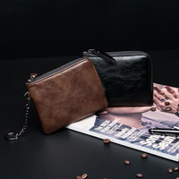 2019 simple fashion hand carry small change purse for men and women practical small bag soft bag