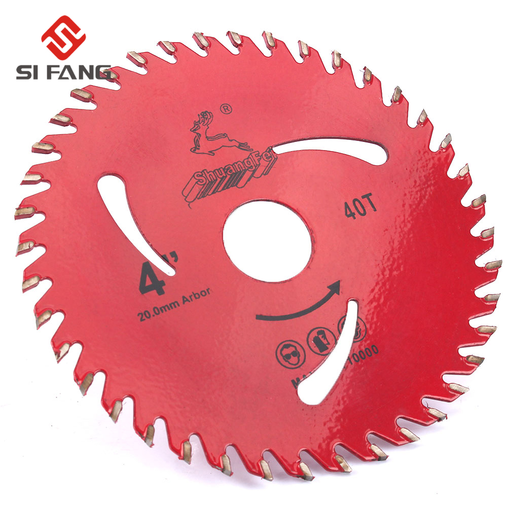 1PC Decoration Grade100*20mm 40Teeth TCT Saw Blade For Wood/MDF/plastic Cutting For Home DIY Decoration Purpose