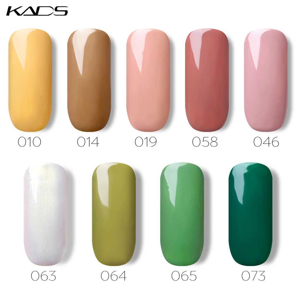KADS 7ml Del Gel Del Chiodo Polacco Unghie artistiche UV Del Gel Del Chiodo Lacca Gel UV Top Coat Base Manicure di Gel per unghie colla Soak Off Nails Art