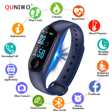 2019 digital Watch Men Women smart wrist watches Blood Press