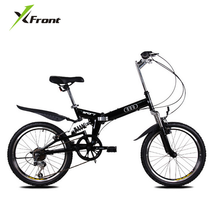 New X-Front Brand 20 Inch Aluminum Alloy Damping Folding Bike Mountain Bicycle Downhill Bmx Bisiklet