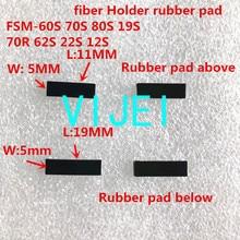 FSM 70S FSM 80S FSM 60S FSM 19S 62S 22S 12S 60R 70R 19S 18S fiber fusion splicer faser halter Fiber clamp gummi pad Gummi matte