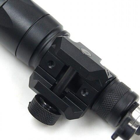 lanterna tatica militar caca tiro rifle softairo arma airsoft arma