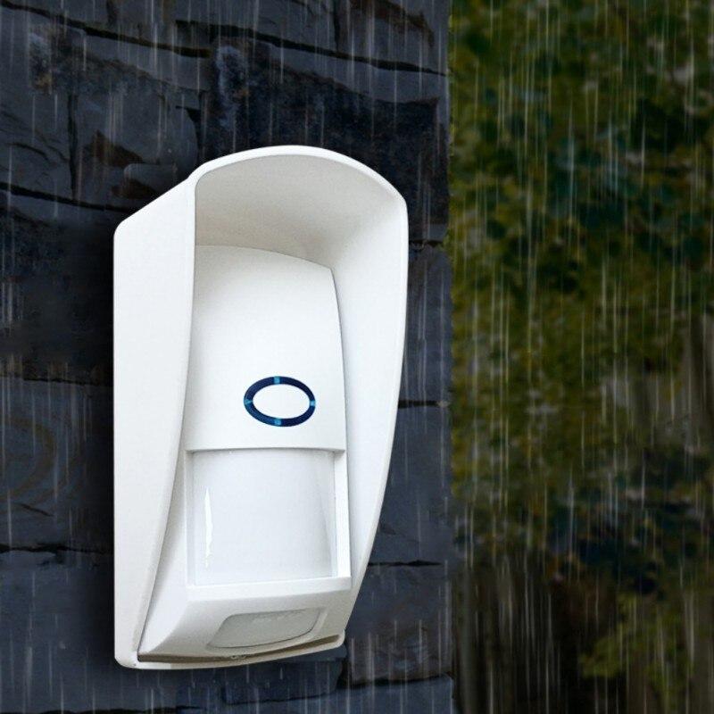 Alarm Infrared Detector Anti-Pet PIR Sensor Detector With Long Detect Distance For KERUI Alarm System