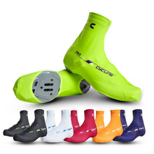 High Elasticity Cycling Shoe Cover Waterproof Breathable Bicycle Cycling MTB Bike Cycling Shoe Wrapping Reusable Shoe Covers
