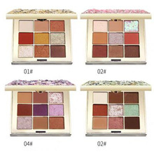 ZHENDUO 9 Color fashion shimmer matte glitter eyeshadow Palette Natural Long Lasting eye shadow makeup