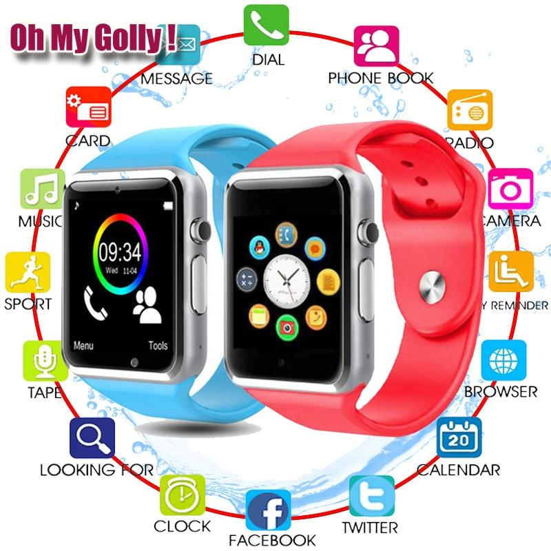Smart Watch For Children Kids Baby Men Women Watch Phone 2G Sim Card Dail Call Touch Screen Waterproof Smart Clock Smartwatches