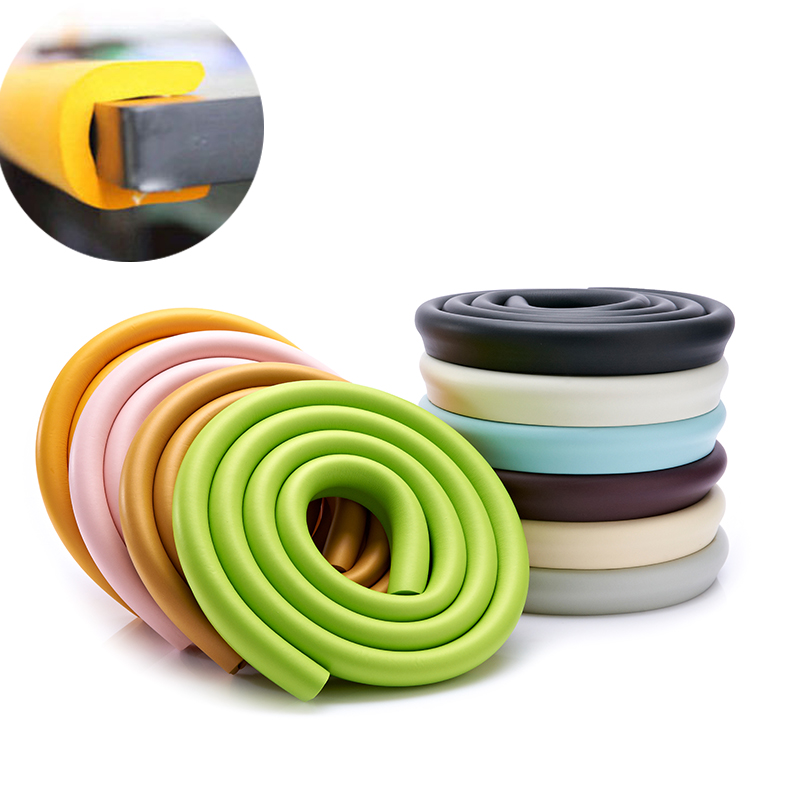 U Shaped And Flat Shaped Children Safety Products Baby Crash Bar Glass Coffee Table Desk Corner Child Protection Strip Free Tape